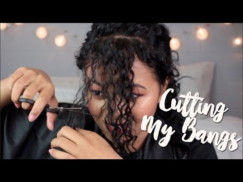Bangs On Curly Hair // Krysler R
