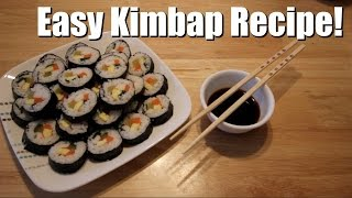 Download EASY KIMBAP HOW TO! | ITJUSTKELLI Video