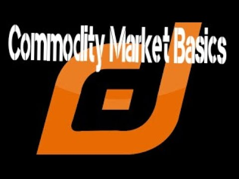 Commodity Market Basics in Tamil