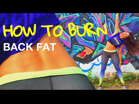 How To Burn Back Fat and Tone Your Waist