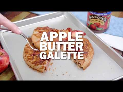 How To Make Apple Butter Galette (Recipe)