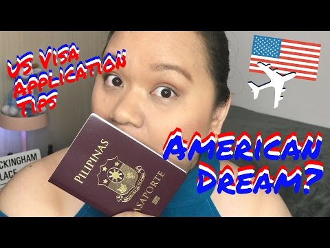 TIP TUESDAY - US VISA APPLICATION TIPS (TAGLISH)