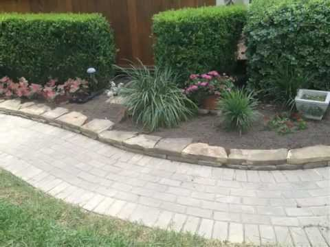 Conroe & Spring TX Hardscapes, Walkways, Pavestone by Carnahan Landscaping