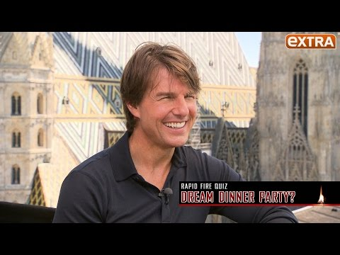 Does Tom Cruise Believe in Love at First Sight? Watch Him Take our Rapid-Fire Quiz
