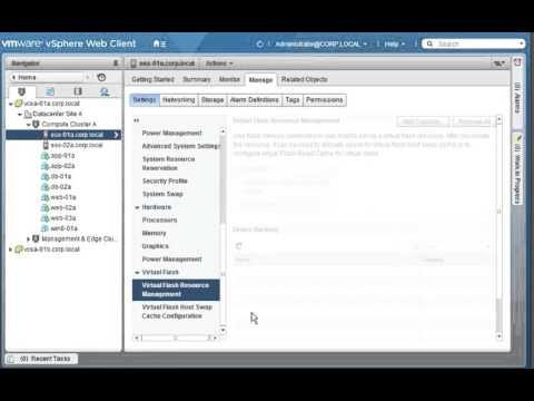 Adding Virtual Flash Resource Capacity