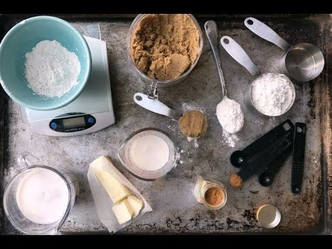 HOW TO MEASURE FOR BAKING | weight vs volume measurements, measuring flour properly