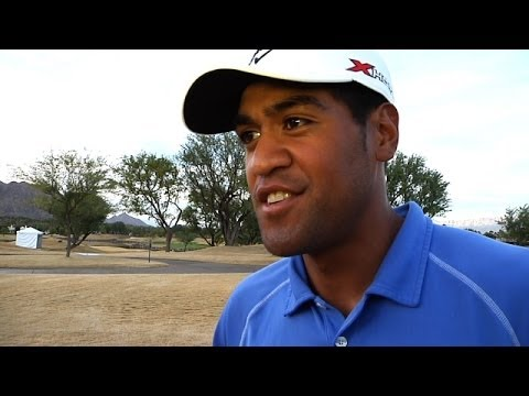 Tony Finau interview after Round 5 of Web.com Tour Q-School