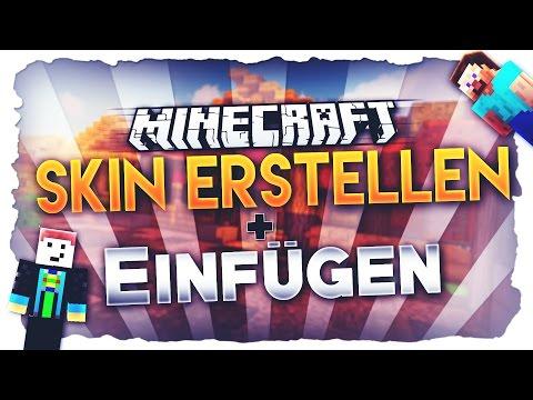 MINECRAFT SKIN ERSTELLEN UND EINFÜGEN ♥ Mac + Windows - German Tutorial