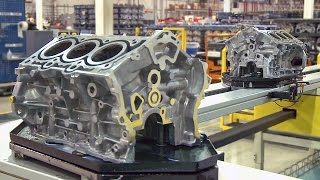 Pentastar V6 Engine Factory (2017)