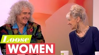 Brian May And Anita Dobson Open Up About Their Marriage | Loose Women