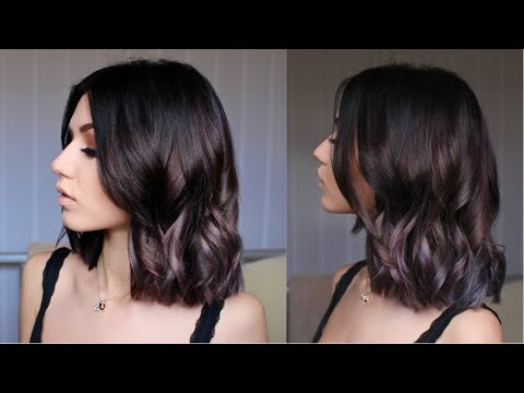 HOW TO: Brown Roots to Lavender Hair Dye | Stella