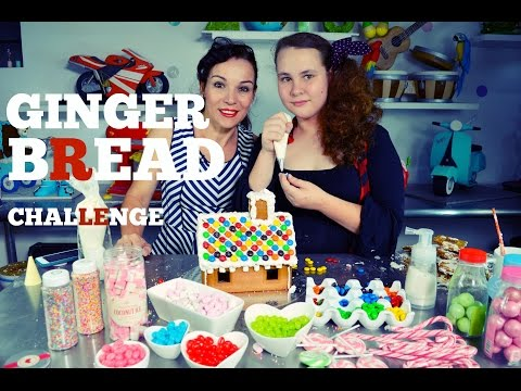 DECORATING GINGERBREAD HOUSE CHALLENGE W/ MY DAUGHTER   BY VERUSCA WALKER