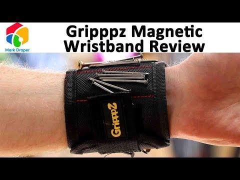GRIPPPZ Magnetic Wristband Tool Organiser