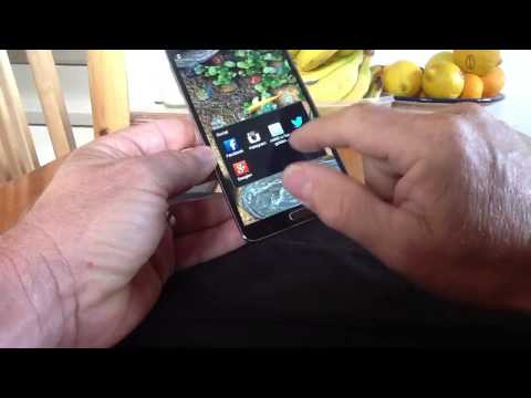 Samsung Galaxy Note 3 or Android screen setup