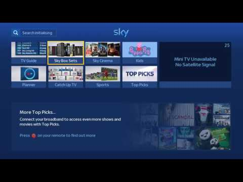 Sky HD - no signal and unable to view previous recordings.