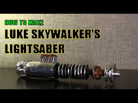 How to make Luke Skywalker's Lightsaber (Prop, Return of the Jedi)