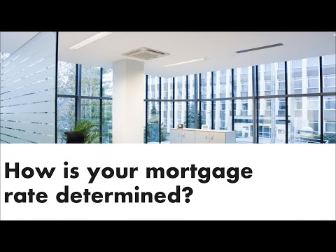 How is your mortgage rate determined?