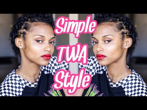 Big Chop Progress: | Easy TWA style