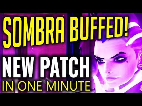 Overwatch Patch - Sombra, Doomfist & Mei BUFFED [Patch In A Minute]