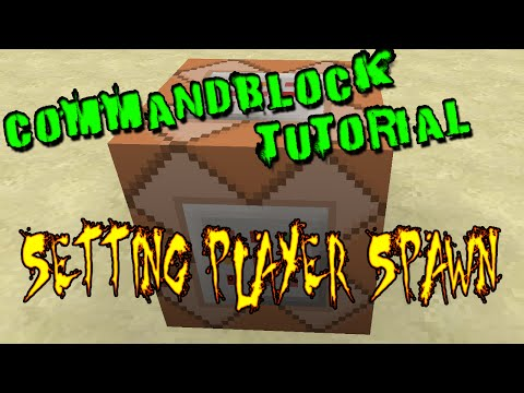 Command Block Tutorial | Setting Player Spawnpoint ( Minecraft 1.9.4, 1.10 or greater)