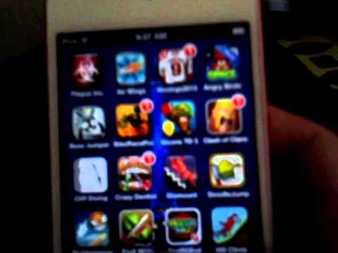 How to organize all your apps on ipod