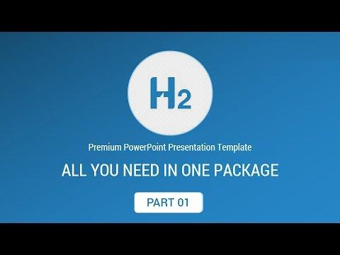 H2 Premium PowerPoint Presentation Template - Part 01
