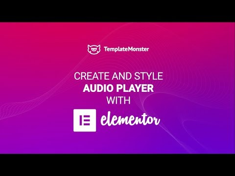 Play MP3 Tracks from Media Library in Elementor Audio Player