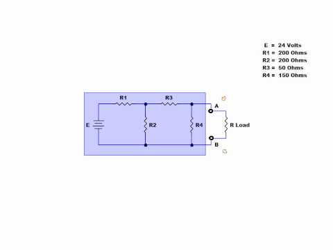 Online tutorial on creating a Thevenin Equivalent Circuit.