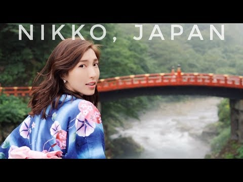 JAPAN VLOG: TRADITIONAL JAPANESE YUKATA IN NIKKO JAPAN!