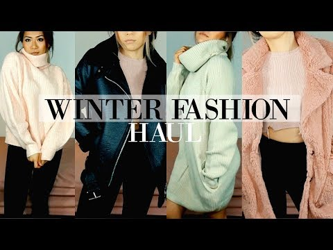 Must Have Winter Fashion Essentials | TRY ON HAUL