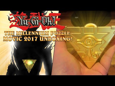 YU-GI-OH! Duel Monsters - The Millennium Puzzle Unboxing! (MOVIC JP 2017)