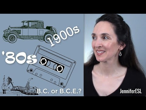 Dates, Decades & Centuries 📅 English Vocabulary with Jennifer 🎓