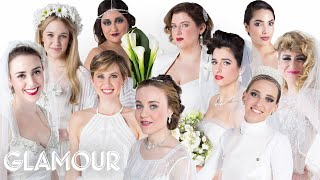 100 Years of Engagement Rings and Wedding Dresses | Style | Glamour