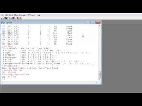 R - Reading in CSV Files