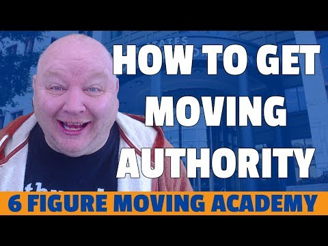 How To Get Moving Authority For Your Company