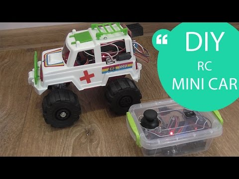 HOW TO MAKE A REMOTE CONTROL MINI CAR // HomeCraft