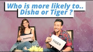 Tiger Shroff And Disha Patani Play