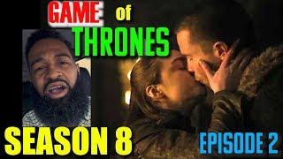 Arya Is Still A Baby: Game of Thrones Season 8 Episode 2 Recap   Bearded Daddy Vlog Life Ep 88