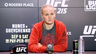 UFC 215: Valentina Shevchenko Post-Fight Press Conference – MMA Fighting