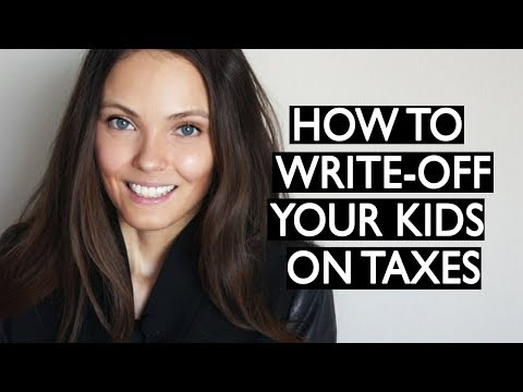 How to write-off your kids' expenses on your taxes
