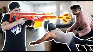 Nerf Dodge Ball! | PAIN GAMES