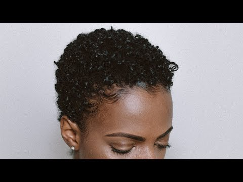 Styling My TWA and Defining My Curls | 3C/4A Big Chop | Natural Hair