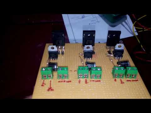 42Amp  MOSFET based  PWM Controlled  DC motor speed controller