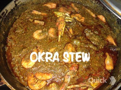 How to cook okra stew/soupou kandja
