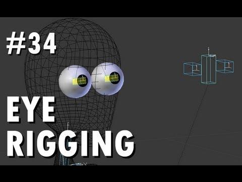 Blender 2.6 Tutorial 34 - Eye Rigging