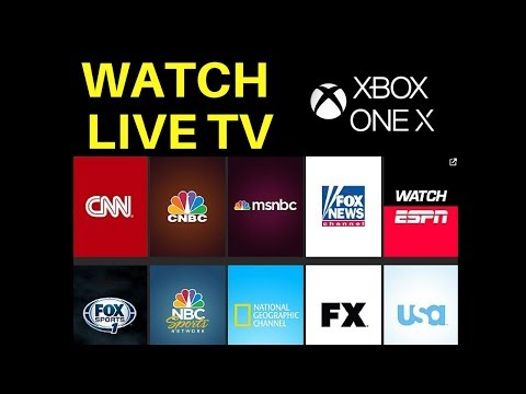 Watch Live TV on Xbox One X from Cable Box