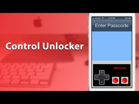 [Cydia Tweak] Control Unlocker - Unlock Your Device With An NES Controller