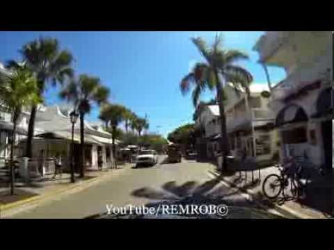 Driving Key West, Florida
