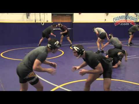 All Access Wrestling Practice with Doug Schwab - Clip 3