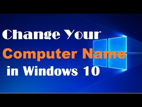 How to Change Computer or PC Name in Windows 10